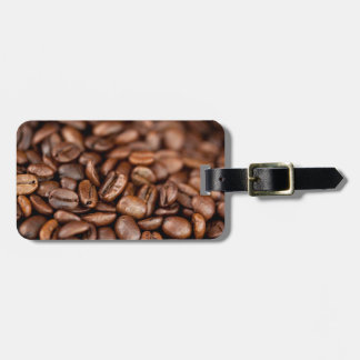 Roasted Coffee Beans Luggage Tag