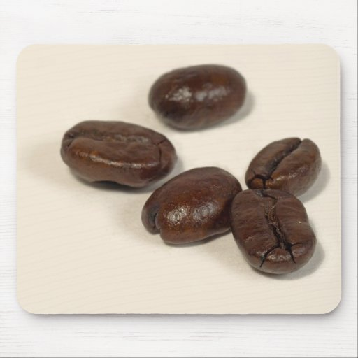 Roasted Coffee Beans Mouse Pad