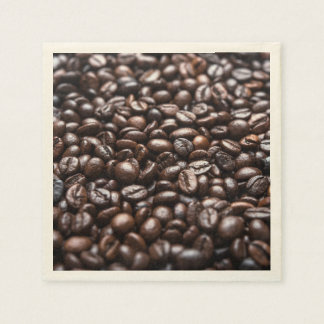Roasted Coffee Beans pattern Napkin