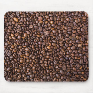 Roasted Coffee Beans Texture Structure Background Mouse Pad