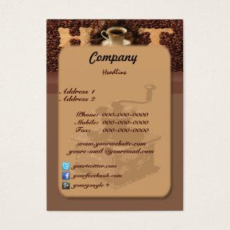 Roasted Coffee Business Card