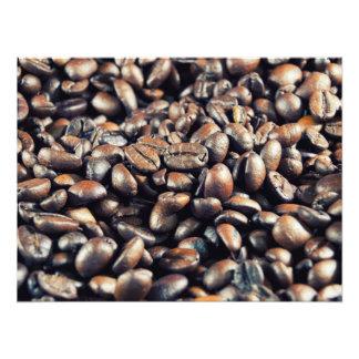 Roasted coffee photograph