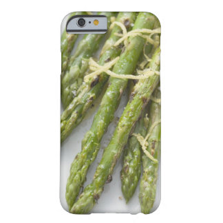Roasted green asparagus with lemon zest, barely there iPhone 6 case
