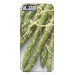 Roasted green asparagus with lemon zest, iPhone 6 case