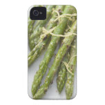 Roasted green asparagus with lemon zest, iPhone 4 case