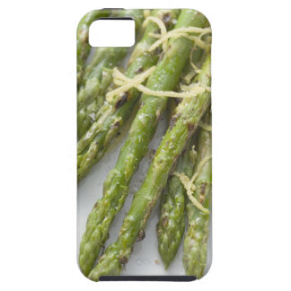 Roasted green asparagus with lemon zest, iPhone SE/5/5s case