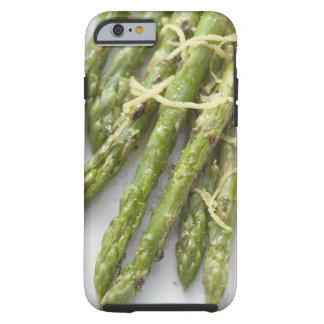 Roasted green asparagus with lemon zest, tough iPhone 6 case