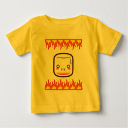 Roasted marshmallow. baby T-Shirt