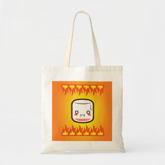 Roasted marshmallow. canvas bags