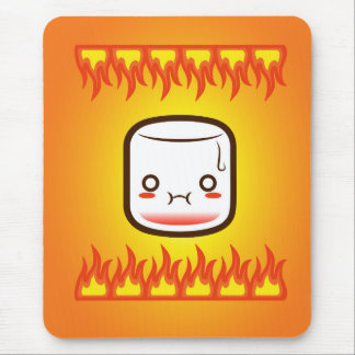 Roasted marshmallow. mouse pad