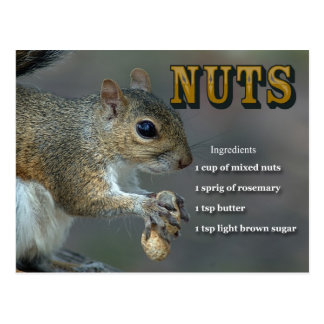 Roasted Nuts Post Cards