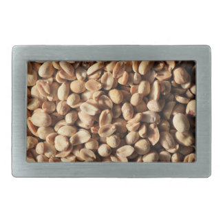 Roasted peanuts texture rectangular belt buckle