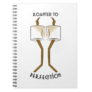 Roasted To Perfection Spiral Notebooks