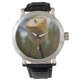 Roasting Marshmallows Wrist Watch