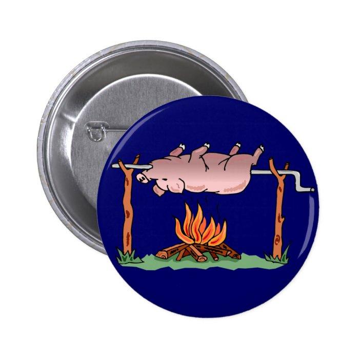 Roasting Pig Button