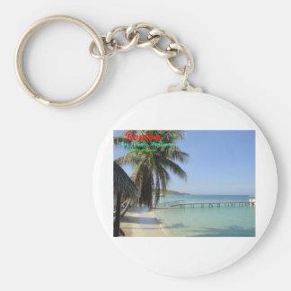 Roatan, Bay Islands, Honduras Basic Round Button Keychain