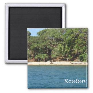 Roatan, Honduras 2 Inch Square Magnet