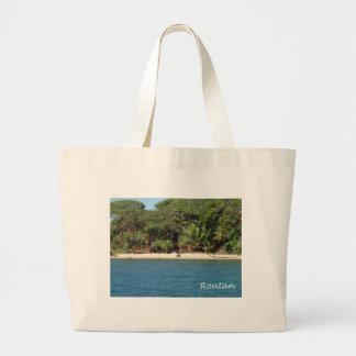 Roatan, Honduras Jumbo Tote Bag