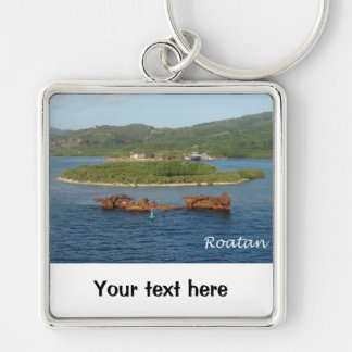 Roatan, Honduras Keychain