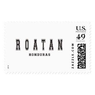 Roatan Honduras Postage