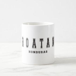 Roatan Honduras Taza Básica Blanca