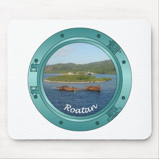 Roatan Porthole Mouse Pads
