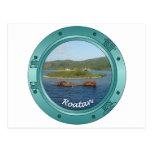 Roatan Porthole Post Card