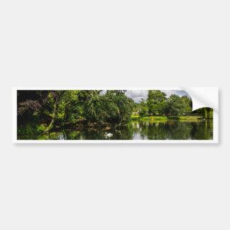 Roath Park Lake Bumper Sticker