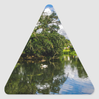 Roath Park Lake Triangle Sticker