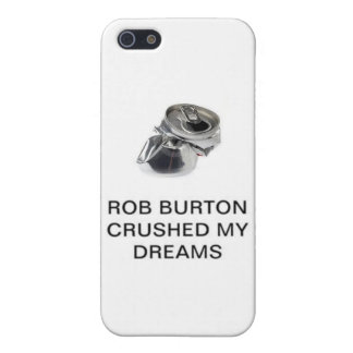 Rob Burton Crushed My Dreams iPhone SE/5/5s Cover