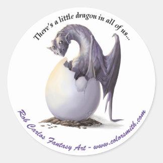 Rob Carlos Fantasy Art Sticker