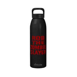 Rob el asesino del zombi botellas de beber