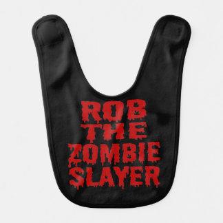 Rob el asesino del zombi baberos para bebé