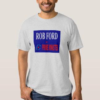 Rob Ford para el primer ministro conservador Camisas