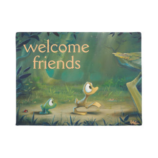 Rob Kaz Welcome Doormat, Follow The Leader Doormat