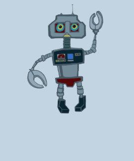 Rob la camiseta del robot