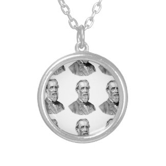 ROB LEE rows Silver Plated Necklace