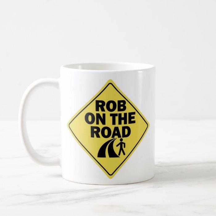 Rob on the Road Left-handed Coffee Mug