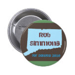 Rob Simmons para el botón del senado Pins