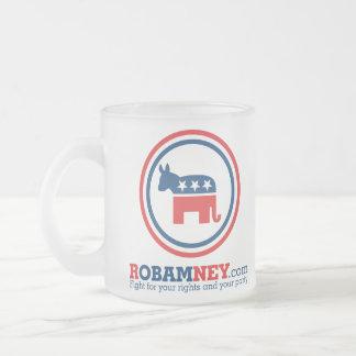 Robamney Frosted Mug