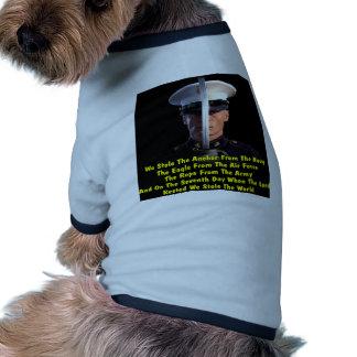 Robamos el ancla, Eagle, la cuerda y el mundo Camisas De Perritos