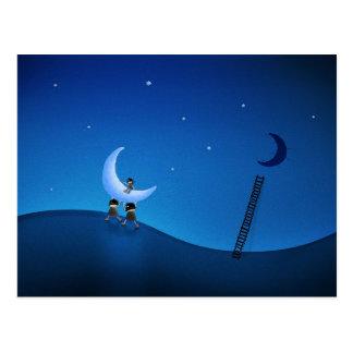 Robaron la luna (versión 2008) postal