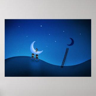 Robaron la luna (versión 2008) póster