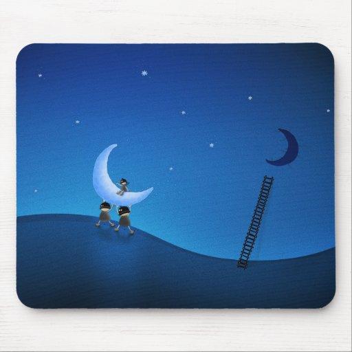 Robaron la luna (versión 2008) alfombrilla de ratones