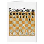 Robatsch Defense Greeting Card