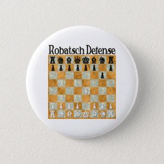 Robatsch Defense Pinback Button