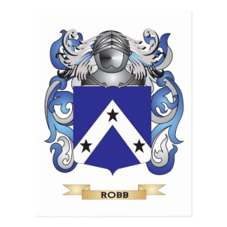 Robb Coat of Arms (Family Crest) Postcard