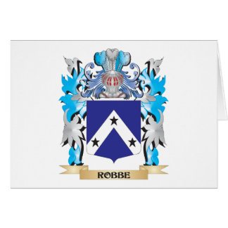 Robbe Coat of Arms - Family Crest Cards