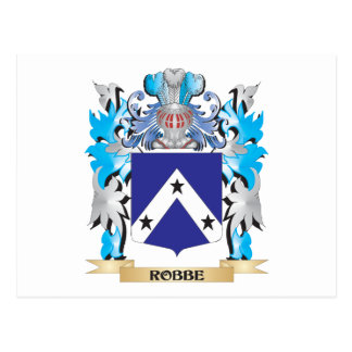 Robbe Coat of Arms - Family Crest Postcard