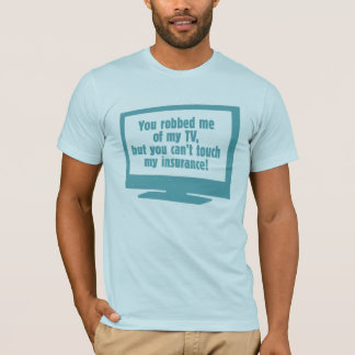 Robbed My TV Basic American Apparel T-Shirt